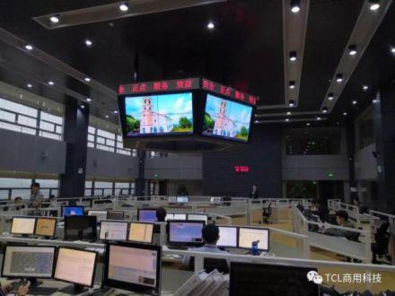 TCL大屏幕拼接系统解决方案入驻云南翔鹏航空