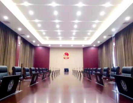 """【智慧法院 】公信助力开封市中级法院开启会议""""智""""时代"""