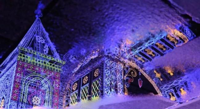 中山古镇 | 最有国际文化的灯光节