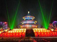 """国庆多地开启""""我爱你中国""""灯光秀!看看你的城市有没有上榜"""
