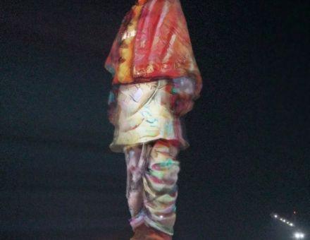 科视Christie Crimson系列激光投影机点亮世界最高雕像——团结雕像