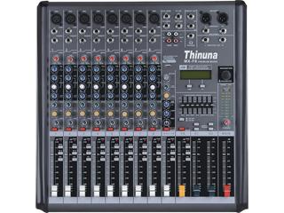 MX-F12-十二路立体声两编组调音台带USB及效果器