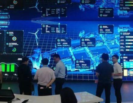 汉创匠心打造盐城智慧能源大数据中心显示系统解决方案