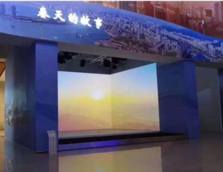 洲明显示屏闪耀国家博物馆,见证改革开放40周年伟大变革