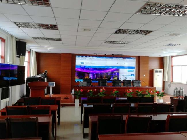 音爵士EAJAX助富县供电分局会议室扩音工程建设