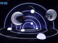 沉浸式融合仿真助燃灵感之火,ATER光影创意互动设计惊艳发布会
