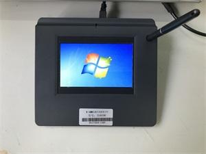 供應行業大廳柜臺工單無紙化簽批5寸電磁式液晶簽名板