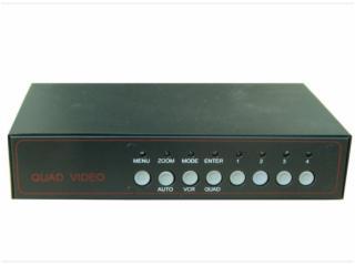 4畫面-盤古 4畫面 VGA畫面分割器