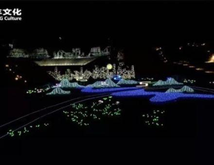 "【LAX案例】共建""一带一路"",《雨打芭蕉》中法使者响亮法国里昂灯光节"
