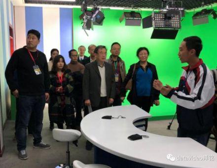 "datavideo洋铭 贵州阳光校园""创新办学理念,校园电视台风景独好"""
