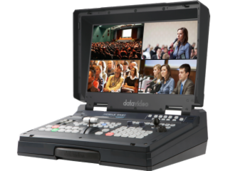 HS-1500T-Datavideo洋铭 HD/SD 4通道HDBaseT便携式挪动演播室