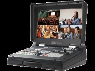 HS-1600T-Datavideo洋铭 HD/SD 4通道HDBaseT便携式挪动录播演播室