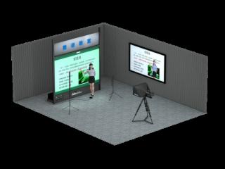 VGB-1000R-Datavideo洋铭 背投式微课教室