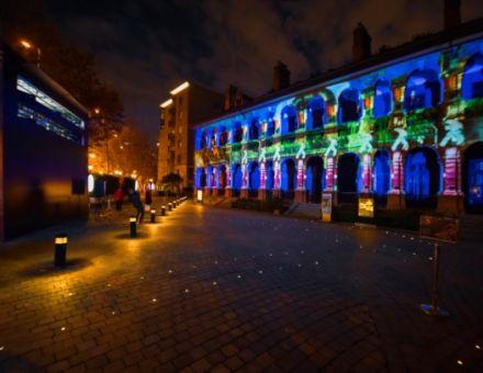 创新光影艺术融入传统建筑  Vivitek(丽讯)以3D外墙投影点亮思南公馆