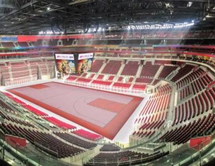 继休斯顿火箭主场之后 利亚德又完成中国西南地区最大体育馆显示系统