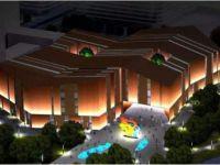 华融3.5mm超窄拼缝液晶拼接屏进驻天津市滨海新区生态城图书档案馆