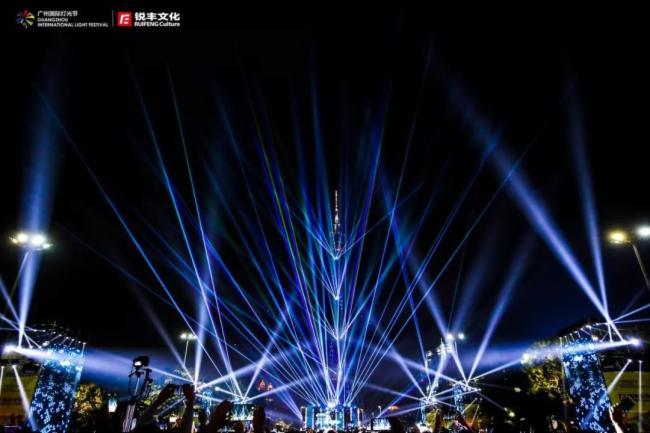 魅力广州,绚丽多彩,第八届广州国际灯光节圆满落幕