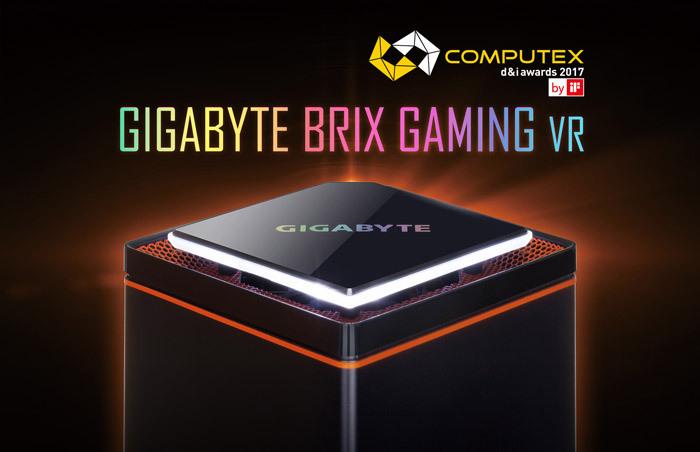 技嘉新款迷你VR游戏主机BRIX