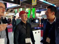 台达 2018全球首发25000流明投影机