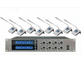 DC-1280-一拖八无线会议系统