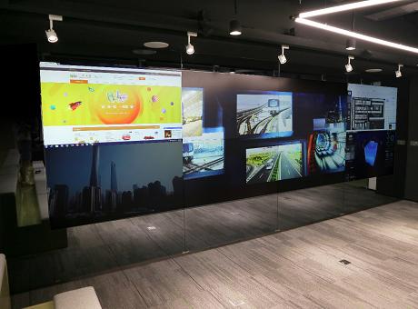 MicsView带您玩转仪电云赛新展厅,完美联动打造智能交互式新会议模式