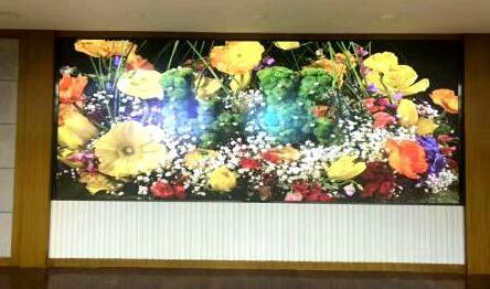 itc室内小间距LED高清显示大屏成功应用于乌鲁木齐市环境信息中心