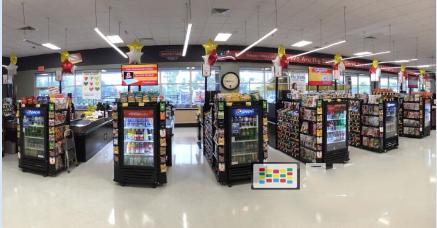 数字广告屏进入超市 攻占结账通道