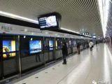 地铁广告机吸引乘客,一天的传播量破千万