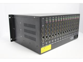 XLD7500-10V36-10屏H.265双口网络数字矩阵