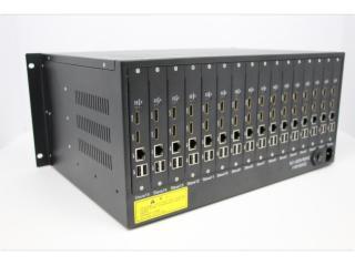 XLD7400-32V16-32屏H.264双口网络数字矩阵