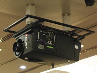 DX-1605P-300-天花隱藏式雙開門投影升降機