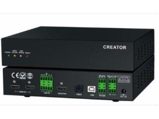 CR-uSF4000-I-4K光纖分布式輸入節點