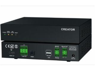 CR-uSF4000-O-4K光纖分布式輸出節點