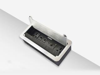 桌面插座 帶毛刷-騰中TENON  桌面插座 帶毛刷