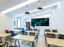 大型空间3D/VR虚拟现实智能教室解决方案  两通道主动立体