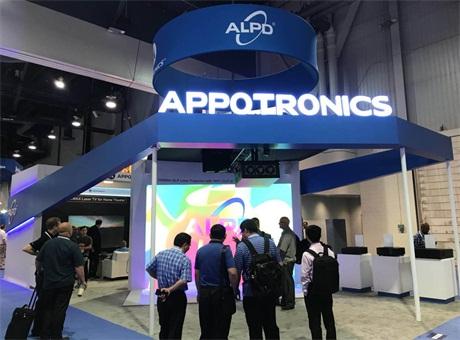 燃炸!光峰 ALPD®激光重磅产品亮相2018年美国Infocomm展