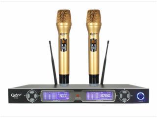 UR-200-无线麦克风话筒,一拖二手持,U段无线话筒,KTV专用