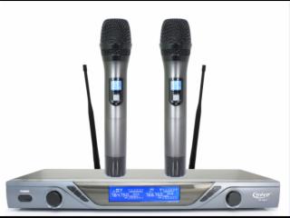 UR-8901-一拖二无线麦克风,无线手持话筒,数字导频,娱乐话筒