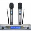 一拖二無線麥克風,無線手持話筒,數字導頻,娛樂話筒-UR-8901圖片