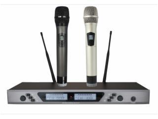 UR-650-一拖二无线手持麦克风话筒,KTV舞台演出话筒