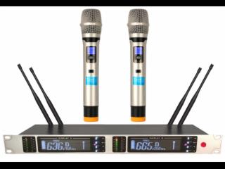 UR-362-一拖二无线手持麦克风KTV专用话筒,专业舞台演出