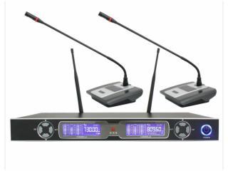 UR-200-一拖二无线会议麦克风话筒,鹅颈唛,电容麦