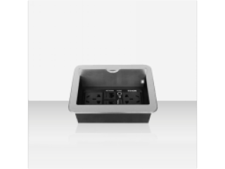 TH200-騰中 滑蓋式桌面插座