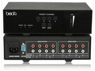 TS-6804-4 路调音器