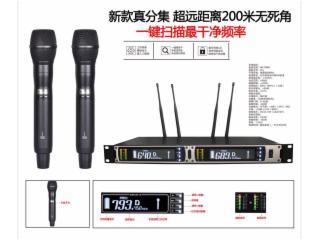 UR-390-一拖二无线手持麦克风演出专用话筒,专业舞台演出