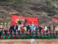 EAW助阵黄河壶口瀑布大型红色实景表演《黄河大合唱》