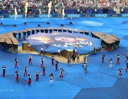 曲终人未散 | 利亚德集团助力2018俄罗斯世界杯闭幕式