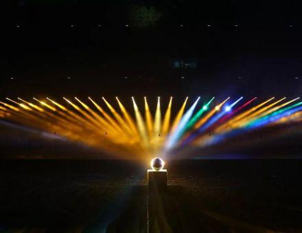 巴可一场灯光影像的交响乐,不要太好看!