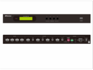 型号 :MHD44A-4*4HDMI高清矩阵
