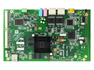 AIO-IP4D1-LVDS-智能云卡-绿卡